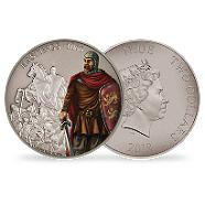 Bild: Battles That Changed History - The Battle of Hastings 2017 1oz Silver Coin