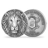 Bild: Big Five Mauquoy Edition - 1kg Silver Lion