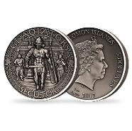 Bild: Gladiators Collection - Thraex 2017 2oz Silver Coin