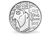 The Royal Mint 1,000th Coronation of King Canute 2017 £5 Brilliant Uncirculated Coin