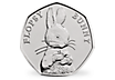 Flopsy Bunny 2018 Brilliant Uncirculated 50p Coin