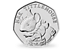 Peter Rabbit & Friends - Mrs Tittlemouse 2018 Brilliant Uncirculated 50p Coin