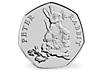 Peter Rabbit & Friends - Peter Rabbit 2018 Brilliant Uncirculated 50p Coin