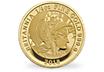 The Britannia 2018 Quarter-Ounce Gold Proof Coin