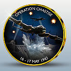 Operation Chastise 16-17 May 1943 Silver and Gold-Plated Commemoratives