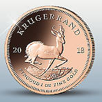 Krugerrand 2018 1oz Gold Coin