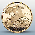 The Quarter-Sovereign 2016 Gold Proof Coin