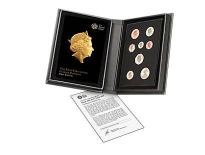 The Fifth Circulating Coinage Portrait – First Editions Base Proof Set