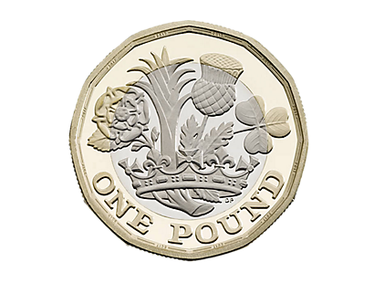 Nations of the Crown - The new 12 sided £1 coins