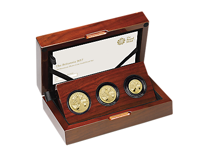 Britannia 2017 Premium Three-Coin Gold Proof Set