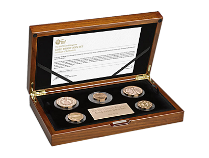 The 2017 United Kingdom Gold Proof Coin Set