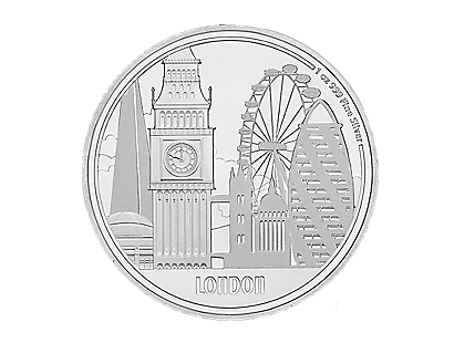 Great Cities Commemorative Coins