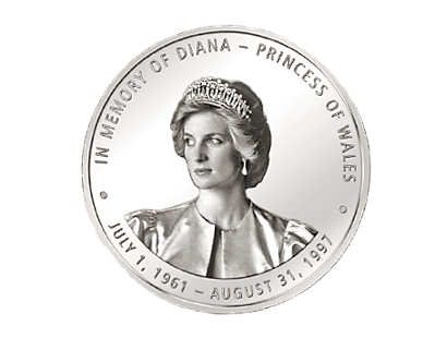 In Memory of Diana, Princess of Wales 2017 Commemorative Coin & Stamps