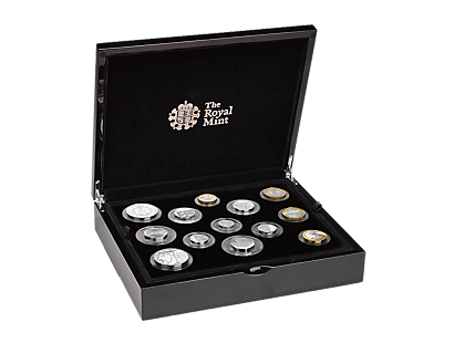 The 2017 United Kingdom Silver Proof Coin Set