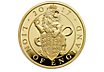 The Queen's Beasts - The Lion of England 2017 - One Ounce £100 Gold Proof Coin