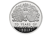 The Platinum Wedding Anniversary 2017 Quarter Ounce Platinum Proof Coin