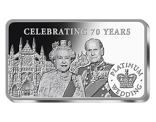 Platinum Wedding Anniversary 99 9 Fine Silver Coin Bars Bnt Org Uk