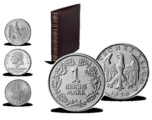 Geldstücke Der Zwanziger Jahre Mdm Deutsche Münze
